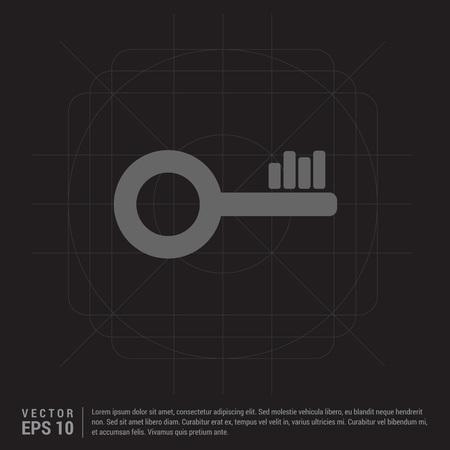 Key Icon Ilustração
