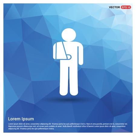 patient, icon Stock Vector - 118284901