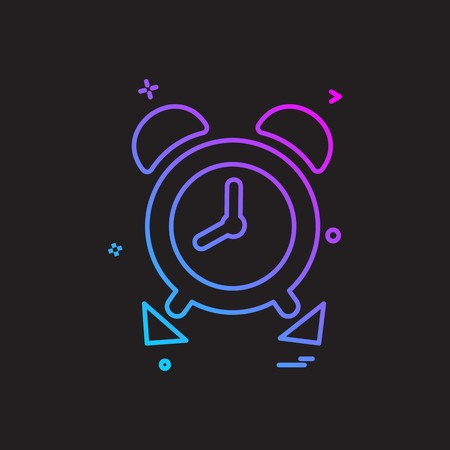 Time pass icon design vector Illustration