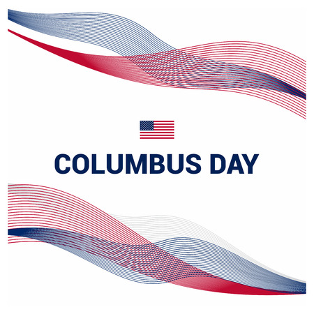 Happy Columbus day design vector Vector Illustration