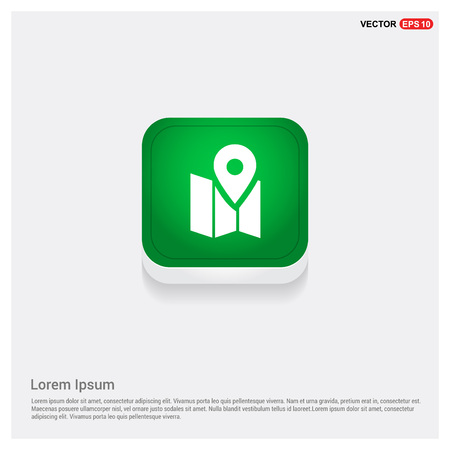 Pin on map icon
