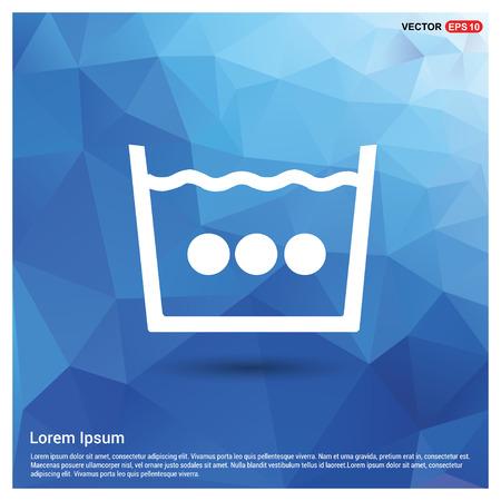Washing Symbol Icon - Free vector icon