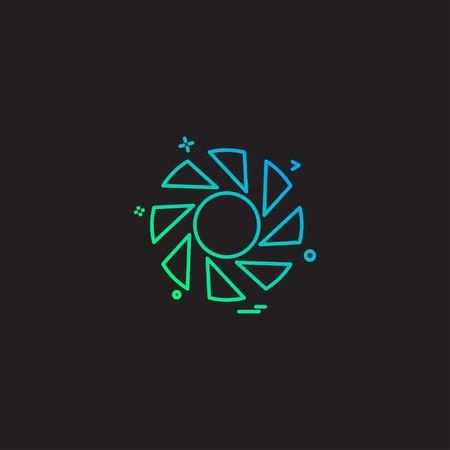 Vector de diseño de icono de persiana