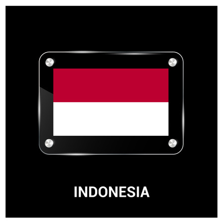 Indonesia independence day design vector Illustration