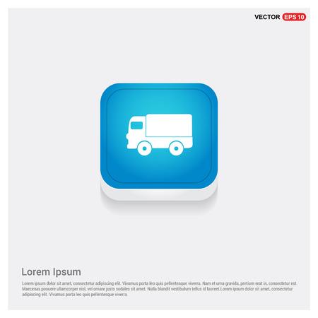 Truck icon Illustration