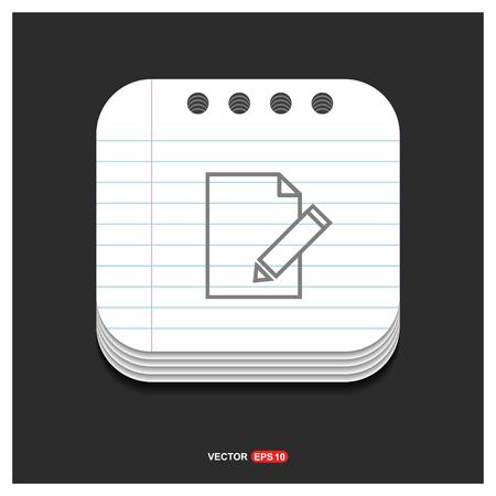 Edit, pencil icon - Free vector icon
