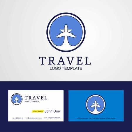 Travel Somalia Creative Circle flag Logo and Business card design