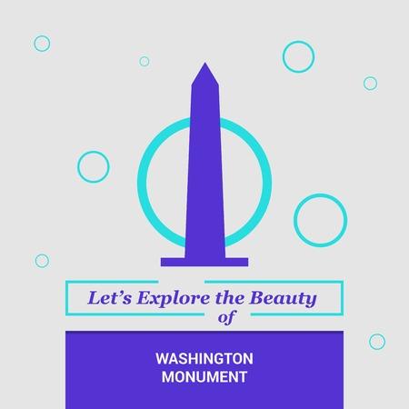 Lets Explore the beauty of Washington Monument, USA National Landmarks