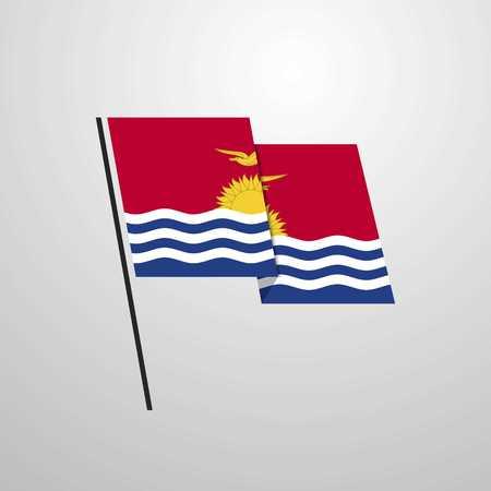 Kiribati Vektoros illusztráció