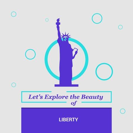 Let's Explore the beauty of Liberty NewYork , USA National Landmarks