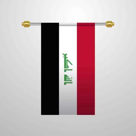 Iraq hanging Flag