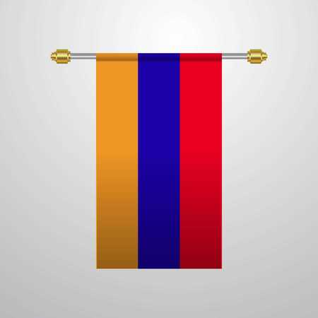 Armenia hanging Flag