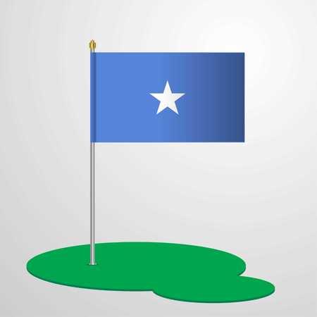Somalia Flag Pole