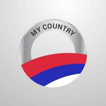 Republika Srpska My Country Flag badge