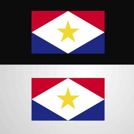 saba Flag banner design