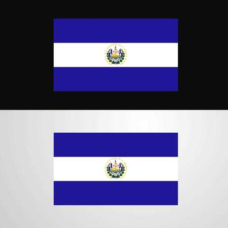 El Salvador Flag banner design