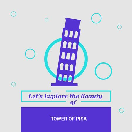 Lets Explore the beauty of Tower of Pisa, Italy National Landmarks
