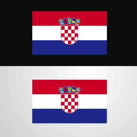 Croatia Flag banner design Stock Vector - 111623468