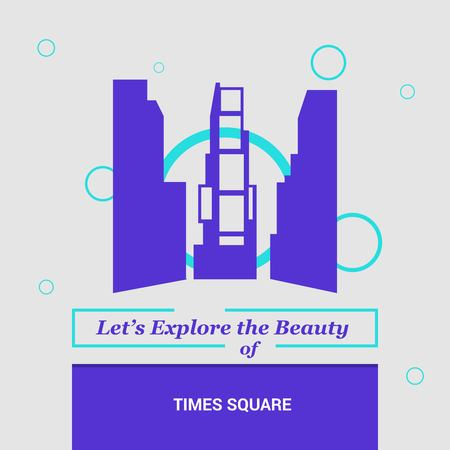 Let's Explore the beauty of Time Square New York, USA National Landmarks