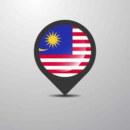Malaysia Map Pin