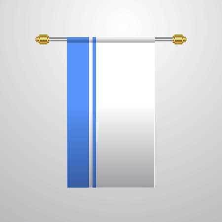 Altai Republic hanging Flag