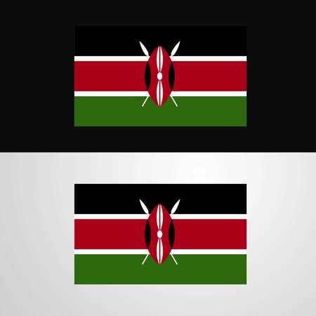 Kenya Flag banner design