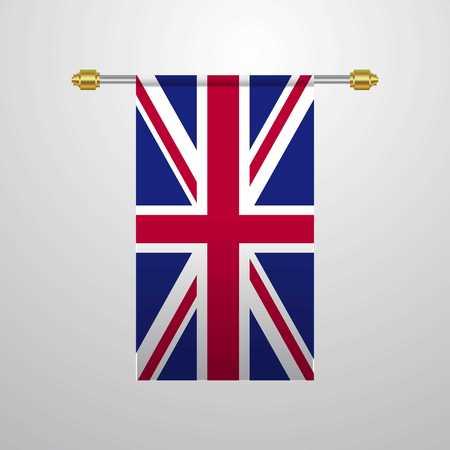United Kingdom hanging Flag