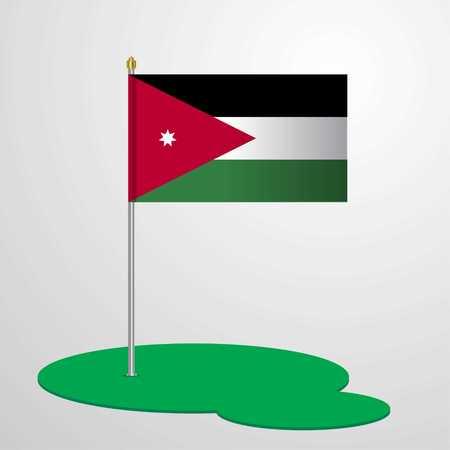 Jordan Flag Pole