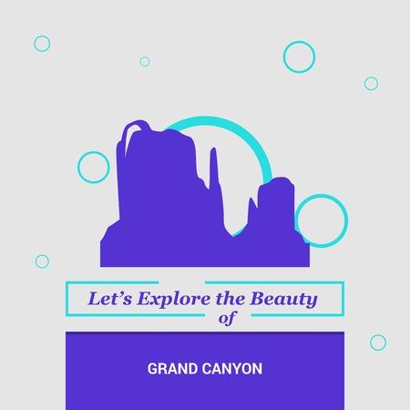 Let's Explore the beauty of Grand Canyon Arizona, United States National Landmarks
