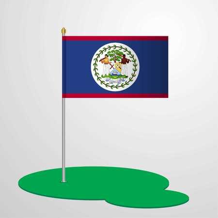 Belize Flag Pole
