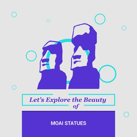 Lets Explore the beauty of Moai Statues Easter island, Chile National Landmarks