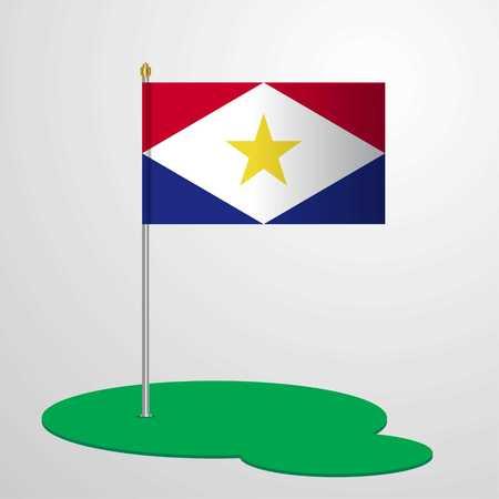 saba Flag Pole