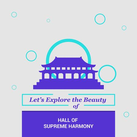 Let's Explore the beauty of Hall of Supreme Harmony Beijing, China National Landmarks