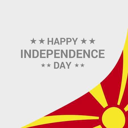 Macedonia Vektorgrafik