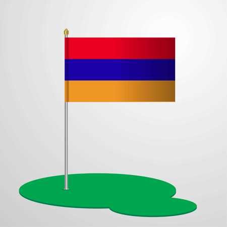 Armenia Flag Pole