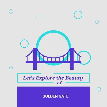 Lets Explore the beauty of Golden gate San Francisco, CA, USA National Landmarks
