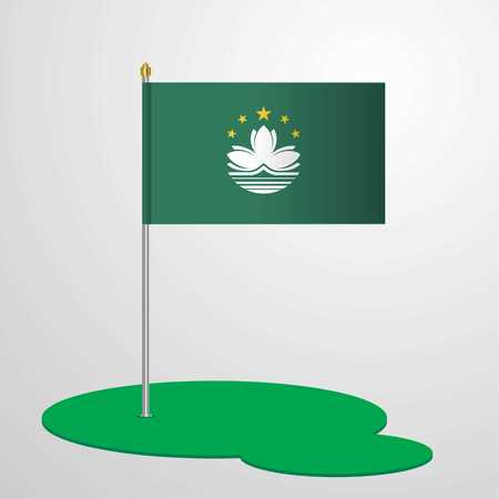 Macau Flag Pole