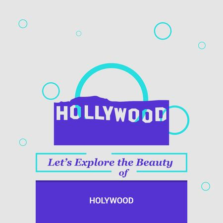 Let's Explore the beauty of Hollywood , USA National Landmarks