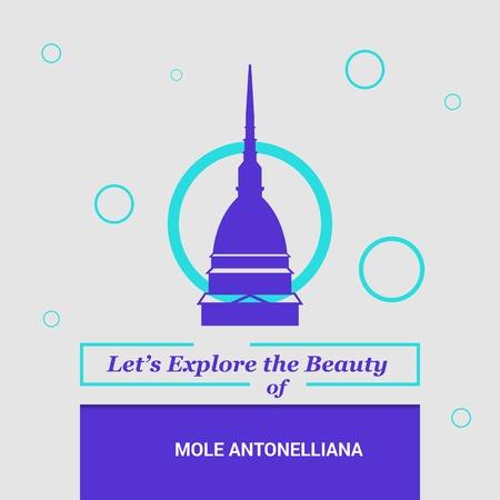 Let's Explore the beauty of Mole Antonelliana, Italy National Landmarks