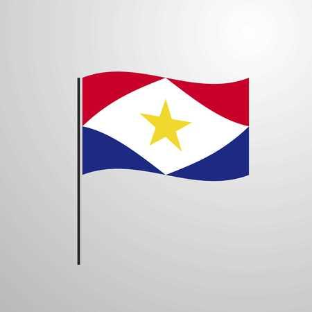 saba waving Flag