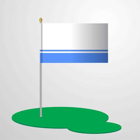 Altai Republic Flag Pole
