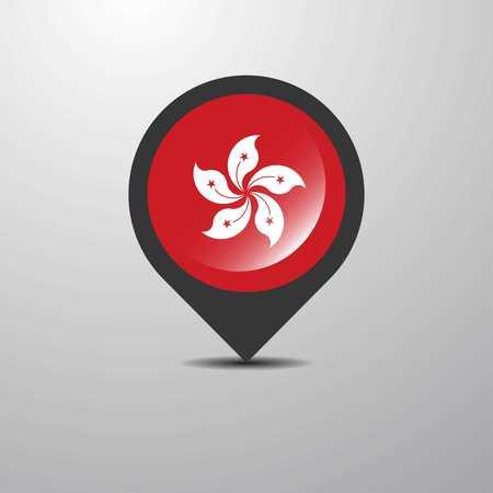 Hongkong Map Pin