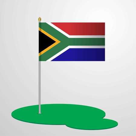 South Africa Flag Pole