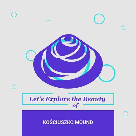Let's Explore the beauty of Kosciuszko Mound Kraków, Poland, National Landmarks 写真素材 - 111262288