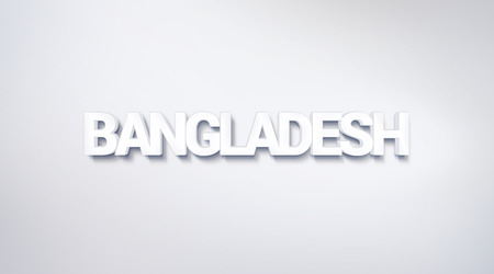 Bangladesh, text design. calligraphy. Typography poster. Usable as Wallpaper background