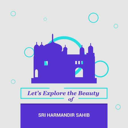 Let's Explore the beauty of Sri Harmandir Sahib Amritsa,  India National Landmarks