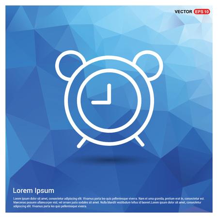 Icono de reloj despertador