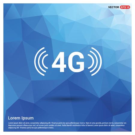4G Icon Ilustrace