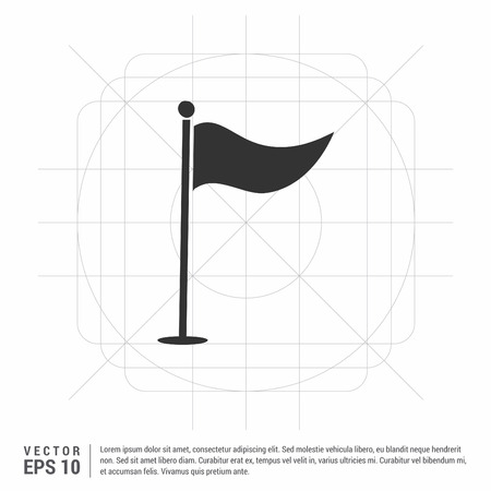 Golf Flag Icon