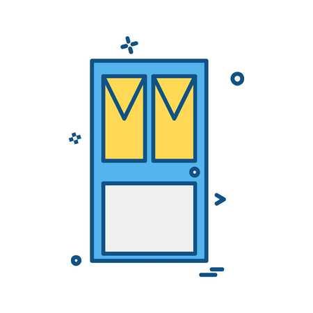 Cupboard icon design vector